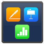 Apple Pages, Numbers, Keynote icon