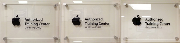 FMC is a Gold Level Apple Authorized Training Center