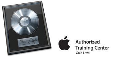 Certified Apple Logic Pro Authorized Training at FMC